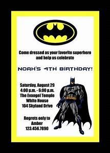 Example Of Birthday Invitation 14 Batman Birthday Party Ideas To Plan A Perfect Batman