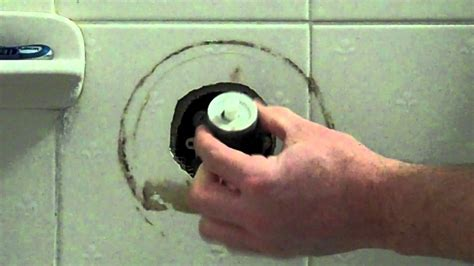 repair  price pfister leaking shower tub spout youtube