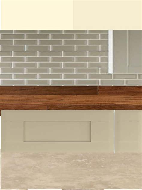 brick floor kitchen kitchen colour scheme v4 dakar units and walnut worktop 1784