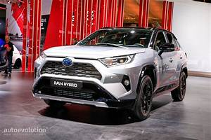 Toyota Rav4 Hybrid : 2019 toyota rav4 makes hybrid production debut in paris autoevolution ~ Medecine-chirurgie-esthetiques.com Avis de Voitures