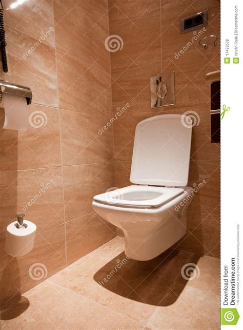 Toilette Moderne Photo Stock Image Du Pipi, Ligne