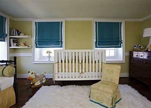 Yellow and Blue Nursery - Transitional - nursery - Angie