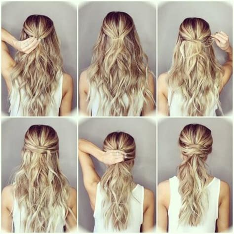 step  step hairstyles  long hair tutorials