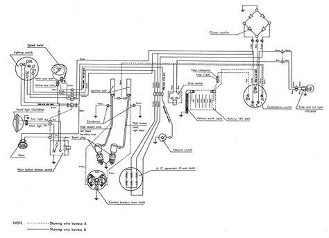 wrg 9829 honda cl70 wiring diagram