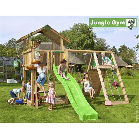 Aire De Jeux Bois Aire De Jeux Jungle Manki Toboggan 14 Enfants Trigano Store