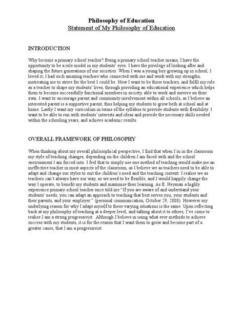 philosophy  education philosophy  education