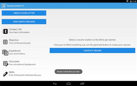resume builder pro v2 9 paid apk is here latest