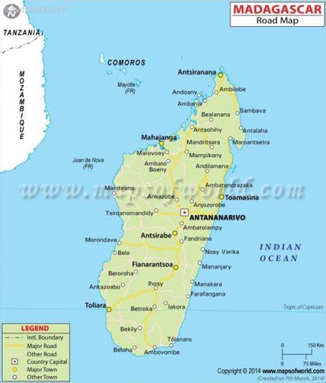 madagascar map travelquazcom