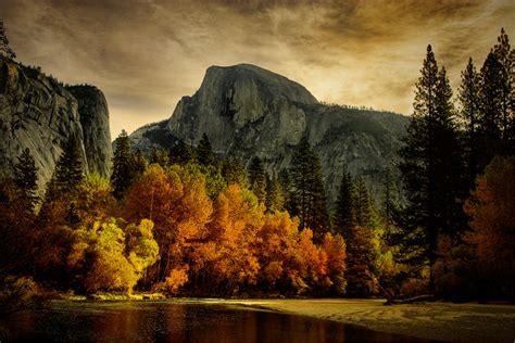 Half Dome, Autumn