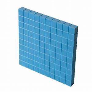 Base Ten Blocks  Class Set  Blue Plastic