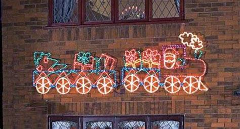 sell train outdoor silhouettechristmas lightsrope lights