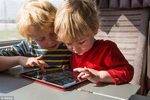 Children spend over six hours a DAY in front of screens ...