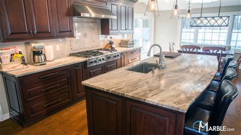 materials for kitchen countertops brown quartzite kitchen countertops