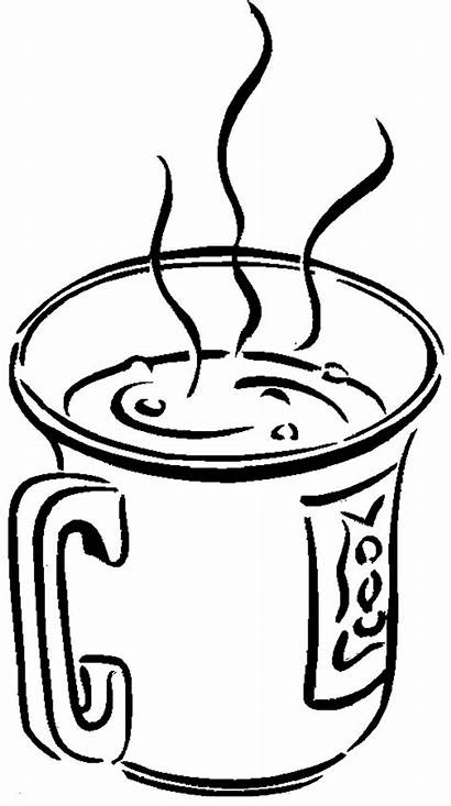 Coloring Pages Drinks Chocolate Drawing Milk Drink