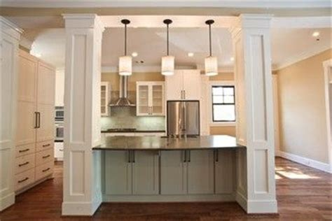 kitchen islands with columns houzz kitchen islands with columns contemporary eclectic 5271