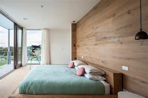 Holz Wandverkleidung Hinter Bett