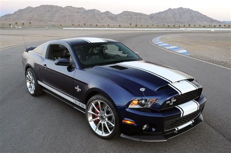 ford mustang shelby gt black color design front