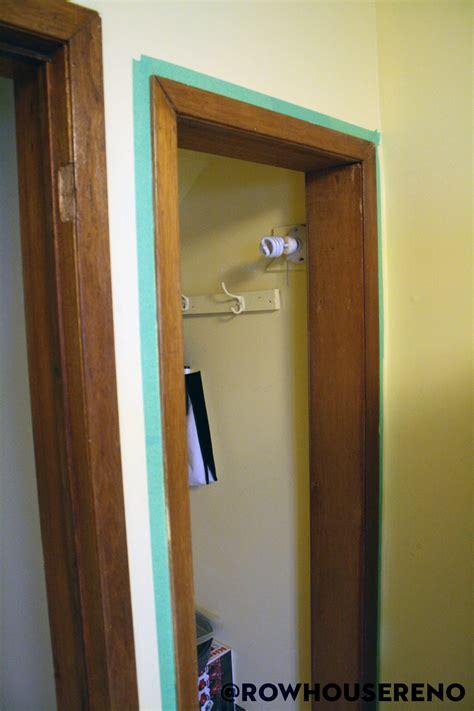 fix  refinish  bifold door row house reno