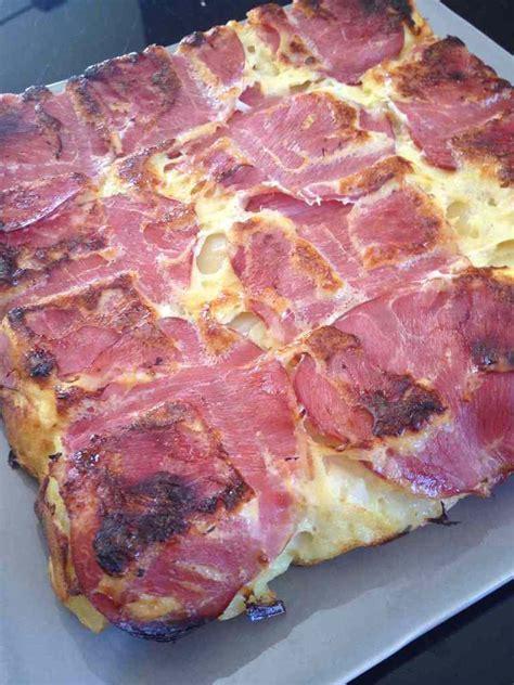 et sa cuisine legere quiche sans pâte bacon pomme de terre et oignons