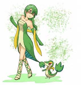 Pokemon Snivy Human Form
