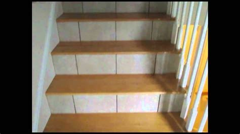 Tiled Stairs Risers and Basement floor   YouTube