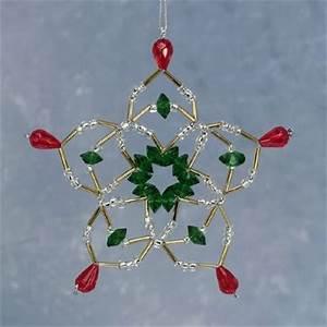 Christmas Decorations Using Beads
