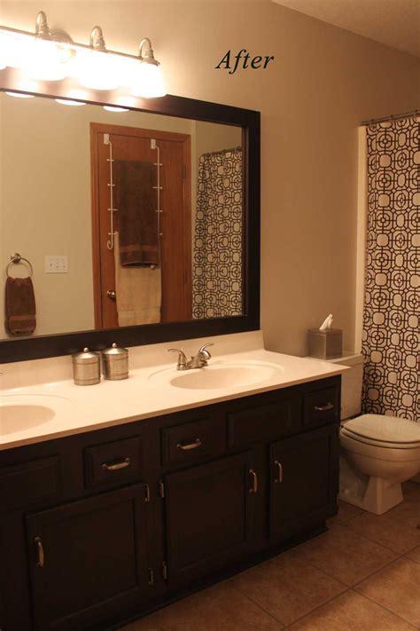 painting bathroom cabinets  homemade