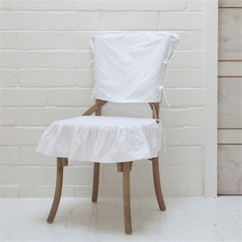 shabby chic dining chair slipcovers ashwell shabby chic couture august chair with