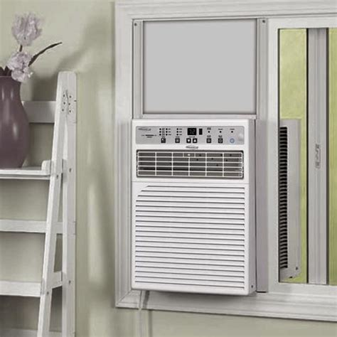 soleus air  btu  volt casement window air conditioner  menards