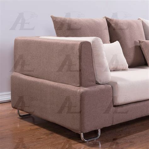 Microfiber Sectional Sofa by Brown Microfiber Sectional Sofa Ae38 Fabric Sectional Sofas