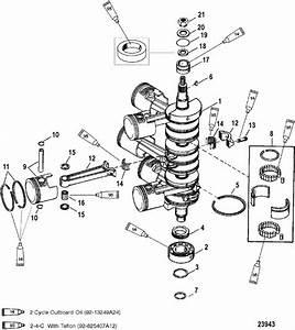 Mercury Mariner Racing 300  3 0l Efi  Pro Max Crankshaft  Pistons  U0026 Connecting Rods Parts