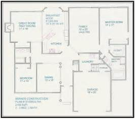 free home blueprints free home plan 2190 sq ft