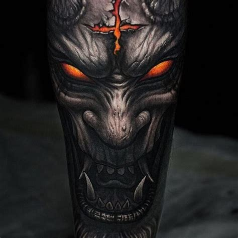 The 25+ Best Demon Tattoo Ideas On Pinterest Depression