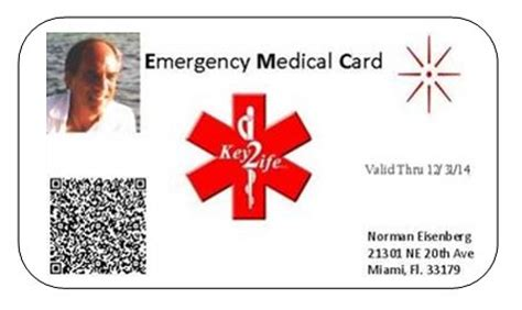 printable medical id cards medidscom medical id