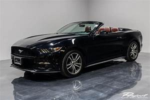 Used 2016 Ford Mustang EcoBoost Premium For Sale ($16,493) | Perfect Auto Collection Stock #231899
