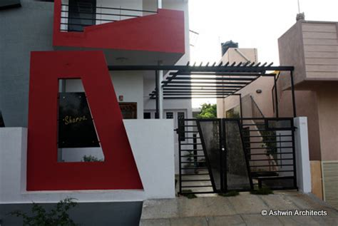 modern duplex house design in bangalore india by ashwin architects at coroflot