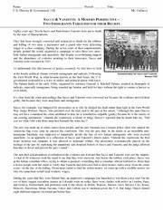 Sacco And Vanzetti Essay Essay About Life Sacco And Vanzetti Trial  Sacco And Vanzetti Essay