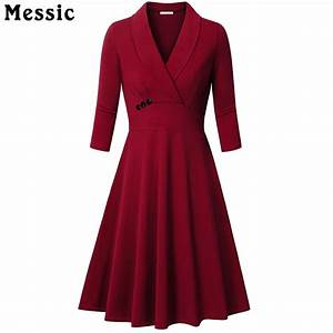 messic autumn a line knitted dress women 2018 vintage With robe 3 4