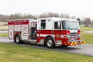 Lancaster City Fire Dept  Purchased Their New Pierce Enforcer Pumper From Glick Fire