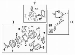 Chevrolet Malibu Gasket  Engine  Pipe  Coolant  Inlet  1 5