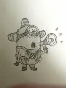 Cute Minions Despicable Me Drawings