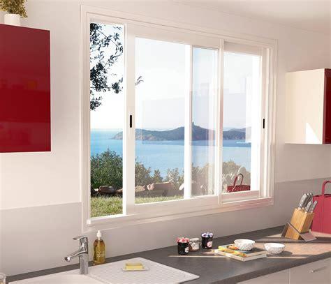 la haute de cuisine fenetre coulissante sur mesure fenêtres aluminium