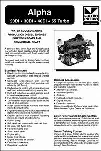 Lister And Lister Petter Diesel Engine Manuals
