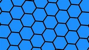 Blue Hexagon Wallpaper (83+ images)