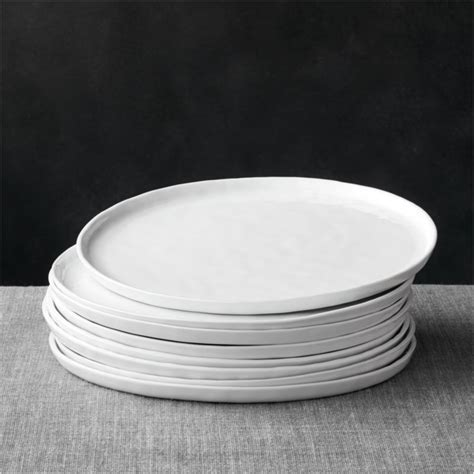 Mercer Dinner Plates Set of Eight | Crate and Barrel