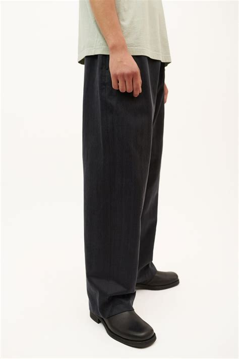 drape trousers drape trousers vintage blue cupro our legacy
