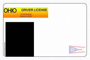 driver39s license birthday invitations all states With ohio drivers license template