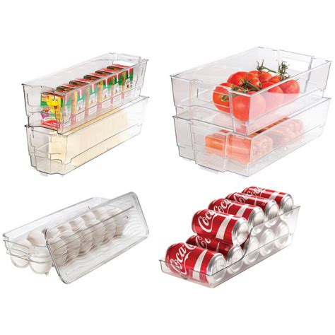 stackable kitchen storage culinary edge 7 refrigerator and freezer stackable 2456