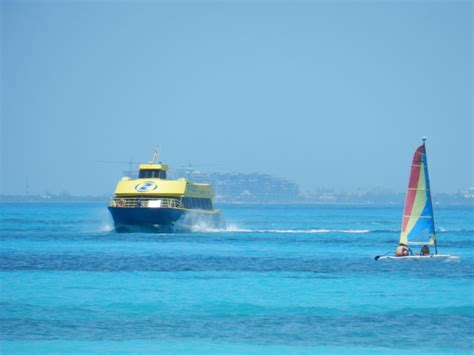 Catamaran Ultramar Cancun by Isla Mujeres Shuttle Crossing Fron Cancun Or Riviera Maya