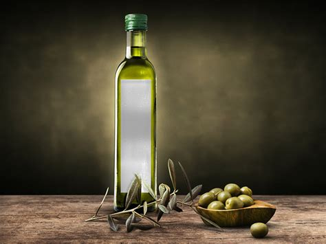 Free pouch packaging mockup psd. Olive Oil Bottle Mockup Free PSD - Download PSD